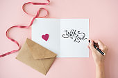 Love Valentine Happiness Like Passion Romance Concept