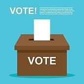 vote , election. democracy vector illustration.