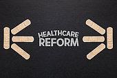 Healthcare Reform. Health care concept