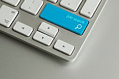 Blue job search button