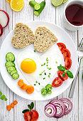 Breakfast , Love concept