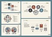 Five Manage Slide Templates Set
