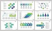 Nine Analytics Slide Templates Set