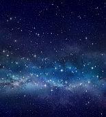 Star field in deep space