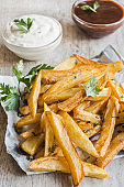 Prepared french fries