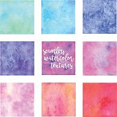 Seamless Watercolor Swatches