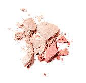 pink crumbled blush
