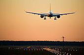 airBaltic CS300 on final Runway 36