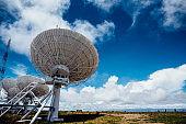 antenna on the ground station