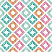Ethnic boho seamless pattern. Scribble texture. Retro motif. Textile rapport.