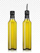 set of two Olive oil bottles