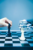 Artificial Intelligence Playing Chess With Human