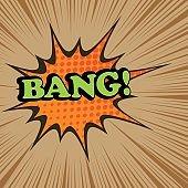 Bang comic text