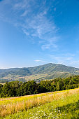 Łącko region on Podhale, in Polish mountains