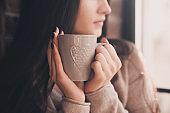 Coffee break in morning