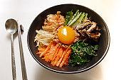 famous korean food,bibimbap