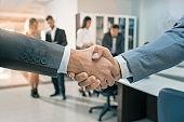 Formal Handshake in an Office