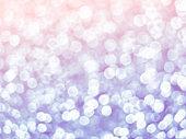 Beautiful blur bokeh lights defocused abstract background.