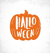Halloween Design Elements for Parties, Greeting Cards and Invitations