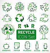 Recycle Icons and Elements