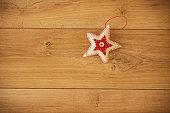 Star shaped Christmas ornament