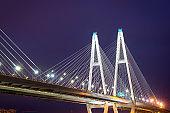 Big Obukhovsky cable-stayed bridge, Neva river