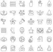 Spa salon icons