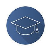 Student's hat icon