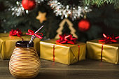 yerba mate under christmas tree