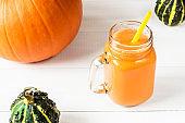 pumpkin cocktail, smoothie