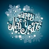 Celebratory background 'Happy New Year'
