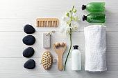 Wellness: Spa Products Still Life