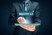 Industry 4.0 - automation, robotics and data exchange in manufacturing technologies