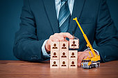 Human resources build team