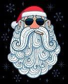 Santa Portrait 3 - Cool