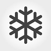 Snowflake Icon - Iconic Series