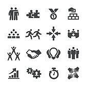 Business Teamwork Icons - Acme Series