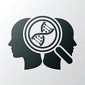 DNA concept icon