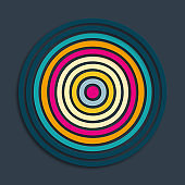 gradient circle pattern background
