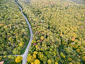 Photo Of The Road From The Drone