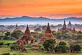 Bagan, Myanmar Temples