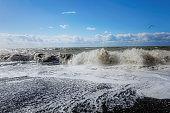 Black sea seascape