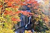 Fukuroda Waterfalls in Autumn, Daigo-machi, Ibaragi Prefecture