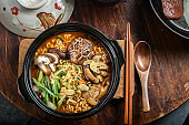 Tasty Ramen with mushroom