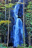 Oirase Mountain Stream in Autumn, Aomori, Japan