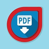 Download PDF button illustration