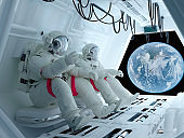 Group astronauts
