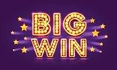 Casino banner big win super star.