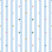 seamless colorful glitter pattern on blue stripe background