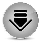 Download icon elegant white round button